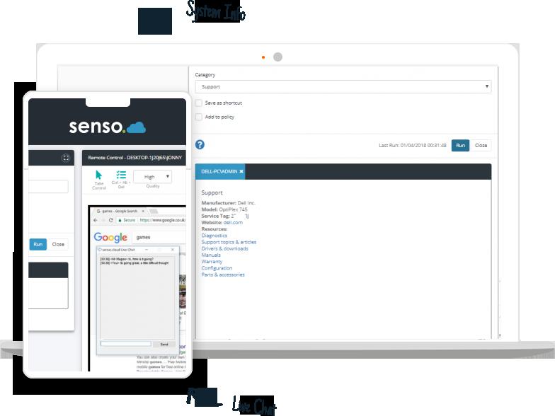 Web based device management