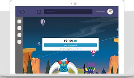 Senso teams management software